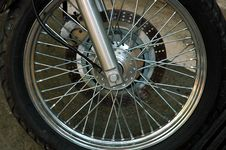 Free Motorcycle Wheel Stock Photos - 962193