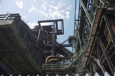 Free Older Rusty Blast Furnance 03 Stock Image - 962821