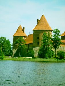 Free Trakai Castle Royalty Free Stock Images - 963149