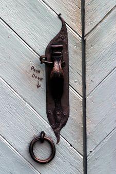 Free Old Door Lock Royalty Free Stock Image - 963476