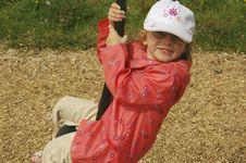 Free Child Swinging Stock Image - 963761