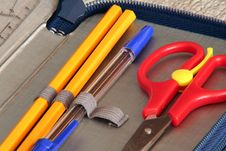 Free Scissors And Pen Royalty Free Stock Photos - 963868