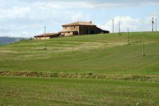 Free Tuscany Landscape Royalty Free Stock Images - 964789