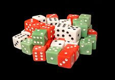 Free Dices Royalty Free Stock Photos - 964988