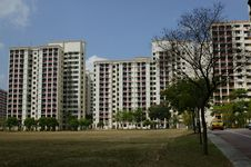 Free HDB Singapore Royalty Free Stock Image - 965226
