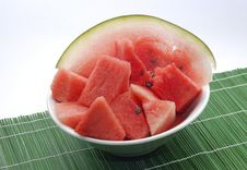 Free Watermelon Royalty Free Stock Photos - 966198