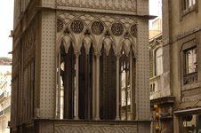 Free Santa Justa Elevator In Lisbon Royalty Free Stock Photography - 966267