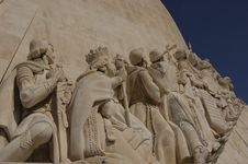 Free Statue Of Discoverers In Belem Stock Images - 966274