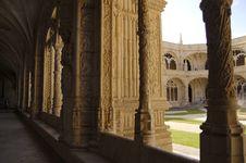 Free Monastery Of Jeronimos Stock Image - 966291