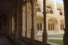 Free Monastery Of Jeronimos Royalty Free Stock Image - 966296