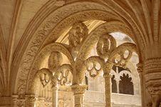 Free Monastery Of Jeronimos Royalty Free Stock Image - 966316