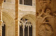 Free Monastery Of Jeronimos Royalty Free Stock Photos - 966318