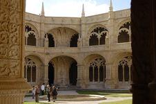 Free Monastery Of Jeronimos Royalty Free Stock Photo - 966335