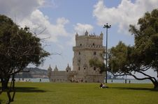 Free Tower Of Belem Stock Image - 966351