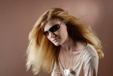 Free Fashion Girl VI Stock Image - 966421