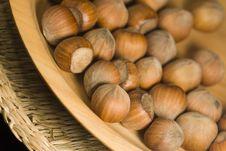 Free Hazelnuts Royalty Free Stock Image - 966436