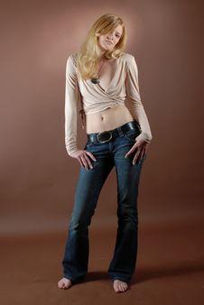 Free Fashion Girl X Stock Photography - 966452