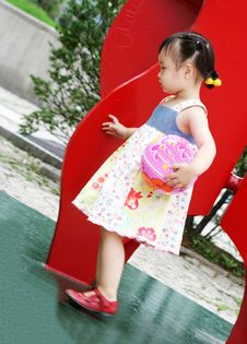Free Cute Korean Girl Stock Photography - 966732