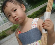 Free Young Asian Girl Stock Photography - 966742