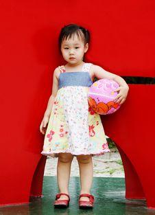 Free Cute Korean Girl Royalty Free Stock Photo - 966745