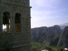 Free Monastery In Meteora Royalty Free Stock Photos - 967618