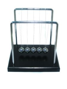Free Newton S Cradle Royalty Free Stock Images - 967639