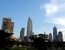 Free Kuala Lumpur Skyline Royalty Free Stock Images - 968329