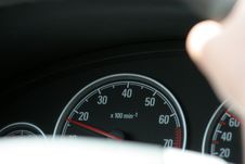 Free Tachometer And Speedometer Royalty Free Stock Photography - 969057