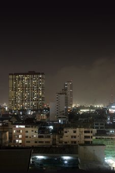 Free Bangkok At Night Stock Photo - 969170