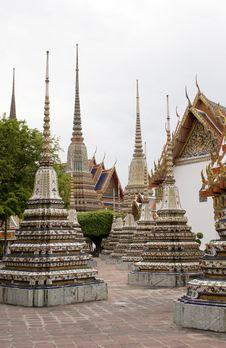 Bangkok Temple 02 Royalty Free Stock Image