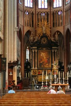 Free Cathedral Interior Stock Image - 969621