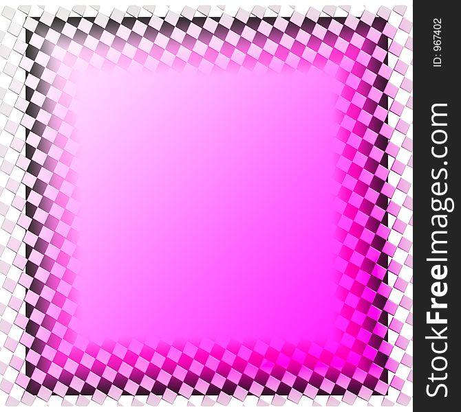 Pinks and grays Frame