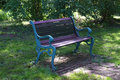 Free Green Bench Royalty Free Stock Images - 9609949