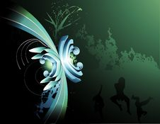 Free Vector Background Illustration Royalty Free Stock Image - 9600206
