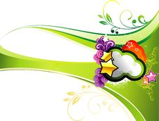 Free Vector Background Illustration Stock Image - 9600221