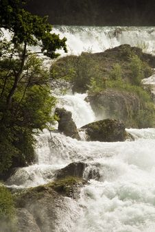 Free Rhine Falls Stock Photo - 9600860