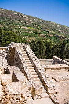 Free Ruins Of Knossos Palace Royalty Free Stock Photo - 9601255