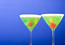 Free Fruit Glass Royalty Free Stock Photography - 9601777