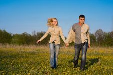 Free Couple In Love Stock Image - 9601811