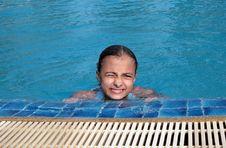 Free Beautiful Girl In Pool Stock Photos - 9602013