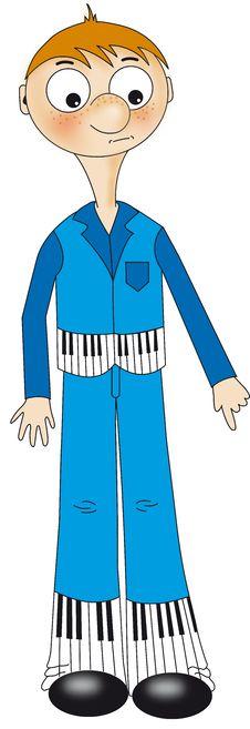 Free Piano Boy Royalty Free Stock Photo - 9602355