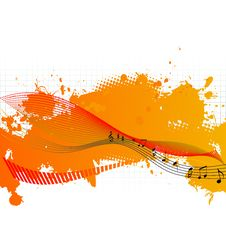 Free Musical Background Royalty Free Stock Image - 9602736