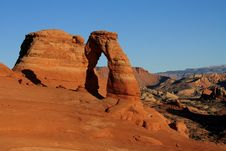 Free Delicate Arch Royalty Free Stock Photography - 9603297