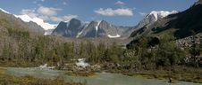 Free The Glacier Myushtu-Ayry Royalty Free Stock Images - 9603719