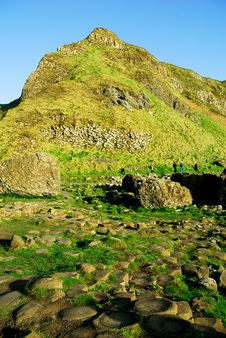 Free Giant`s Causeway, Aird`s Snout 2 Stock Images - 9605934