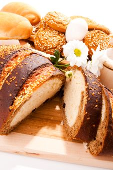 Free Bread, Biscuits, Rolls Royalty Free Stock Images - 9605969
