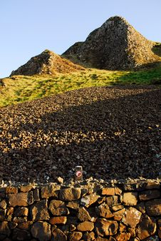 Free Giant`s Causeway, Aird`s Snout Royalty Free Stock Photo - 9606035