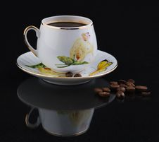 Free Cup Of Coffee Royalty Free Stock Photo - 9606285
