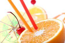 Free Orange Sweets Royalty Free Stock Photography - 9606317
