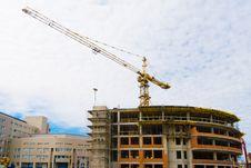 Free Building Crane Stock Photos - 9608583